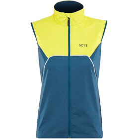 GORE WEAR R7 Partial Gore-Tex Infinium Running Vest Women green/blue